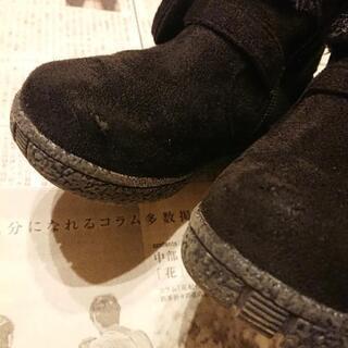 19cm 女児 ブーツ 黒 - 売ります・あげます