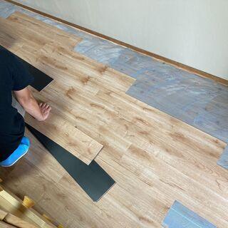 床、カーペット、タイル張替え