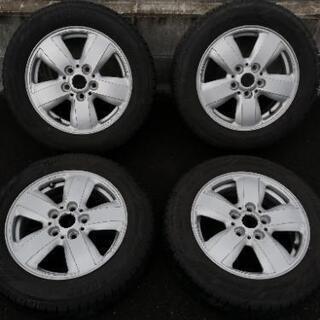 BMW MINI ミニ F56 純正アルミ ホイールとスタッドレ...