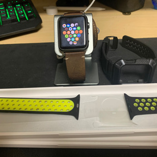 初代Apple Watch‎、AirPodspro、卓上充…