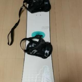中古 スノーボード ATLANTIS 約138cm 売り切…