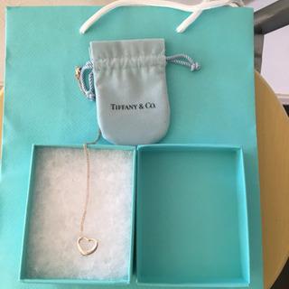 ティファニーオープンハート ネックレス ❣️箱 保存袋 シ…