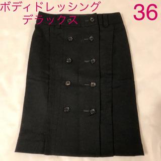 ボディドレッシングデラックススカート ブラック 36