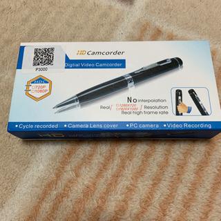 ペン型ボイスレコーダー、カメラ付き