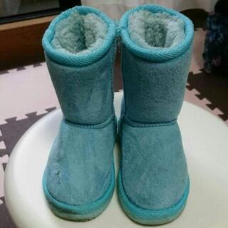 2足で800円❕ ムートンブーツ&フタフタのブーツ 16㎝…
