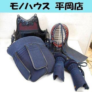 剣道防具一式 面 胴 垂れ 小手 バッグあり 防具セット 剣道具...