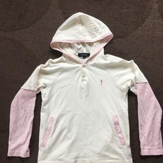 140 イーストボーイ フード付ロンT  Tシャツ