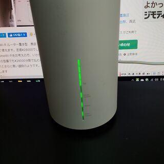 無線WIFIルーター置くだけ au用