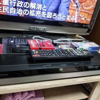 ☆4K Ultra HD!1TB・3チューナー!AQUOS BD...