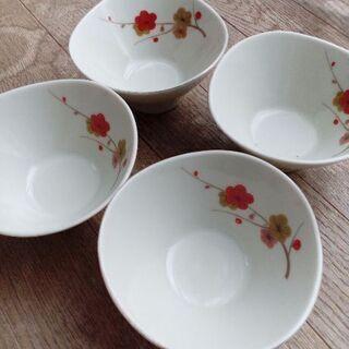 梅の小鉢 4個セット