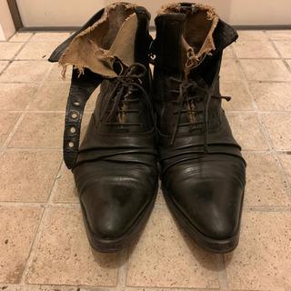 Alfred banister 42 ブーツ 定価3万