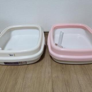 猫トイレ2個+おまけ 給水ノズル