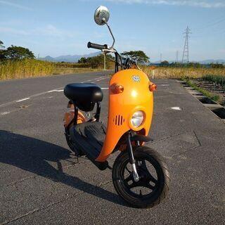 スズキ チョイノリ(50cc)オレンジ 実動車です