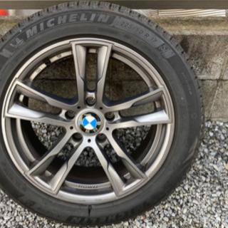 【ネット決済】BMW 5シリーズ スタッドレス&アルミホイール ...