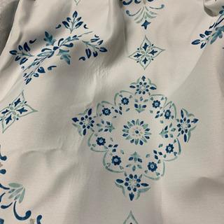ニトリ遮光カーテン 美品の画像