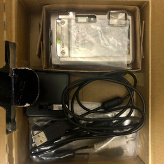 OLYMPUS 防水デジタルカメラ μ TOUGH 8010 μ TOUGH-8010(中古品)OLYMPUS Waterproof Digital Camera μ TOUGH 8010 μ TOUGH-8010 (Second-hand goods) - 家電