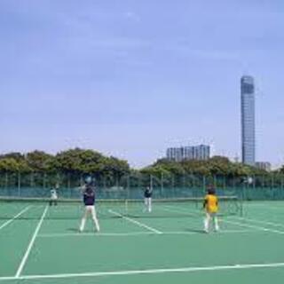 平日のポートパークのテニスメンバー募集してます