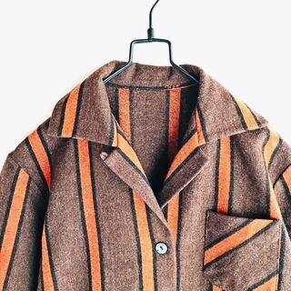 【好配色】ネイティブブランケットシャツ 古着 ヴィンテージ