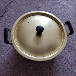大きめ30cmサイズ両手鍋