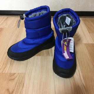 新品未使用 男の子用ブーツ 21センチ