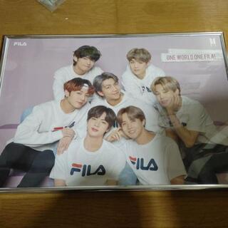 BTS FILAコラボポスター ポスターケース入り