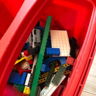 LEGOの赤いバケツ - 福岡市