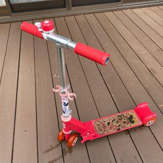 【終了】★キッズ用ミッキーキックボード!!★ - 家具