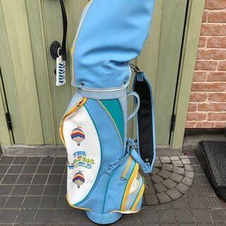 ゴルフ キャディバッグ ダンロップ ブルー CADDIE BAG...