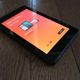 Amazonタブレット fire HD6