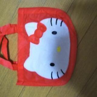 キティちゃん  幼児用バッグプラスエコバッグ