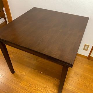 伸長可能 ダイニングテーブル