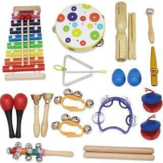 【ネット決済・配送可】打楽器は、音楽の情操教育にも役立つ、一番簡...