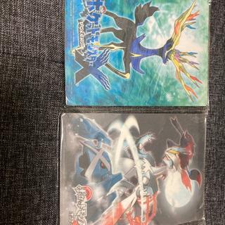 【新品未使用】ポケモンマウスパッド2枚セット Xとホワイト2