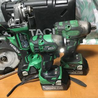 日立工機 ハイコーキ 18V 電動工具セット WH18DDL2 インパクトセット - 那須烏山市
