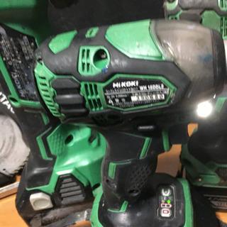 日立工機 ハイコーキ 18V 電動工具セット WH18DDL2 インパクトセット - その他