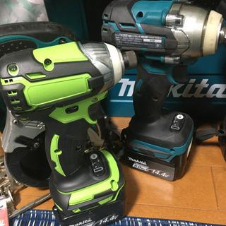 マキタ 14.4V 電動工具セット TD136 DF474 TW280 TM41 − 栃木県