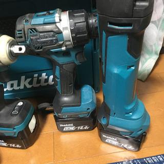 マキタ 14.4V 電動工具セット TD136 DF474 TW280 TM41 - その他