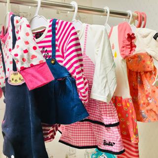 【お譲り先決まりました】ベビー服、子供服、タダでお譲りします。の画像