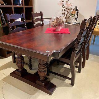 ダイニングテーブルセット テーブル チェア 5点セット ヴ…