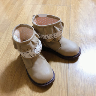 キッズ ブーツ ベビー シューズ 靴 15 cm 新品