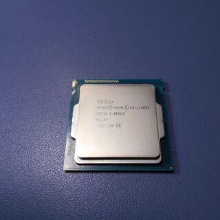 LGA1150 CPU XEON E3-1240 V3 中古