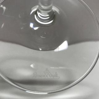 【美品】Rosenthal(ローゼンタール) 白ワイングラス - 生活雑貨