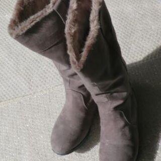 女性用防寒ブーツを差し上げます