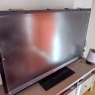 中古美品 48~52型位用の液晶テレビ保護パネル