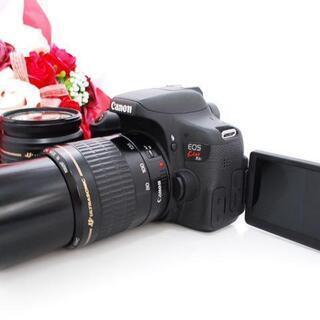 ★全国発送対応★【高画質!!】Canon kiss x8i ダブ...
