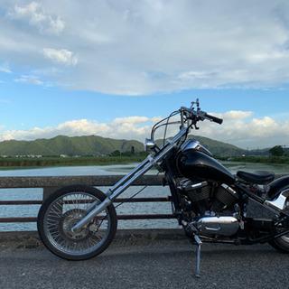 【ネット決済】中型アメリカンバイク400cc バルカン400