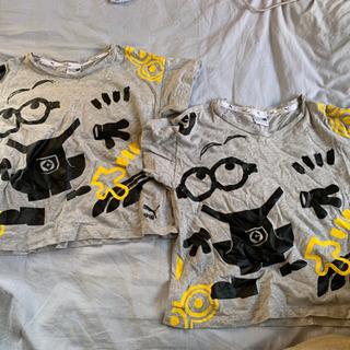puma ミニオンコラボ 半袖Tシャツ 110 2枚 双子
