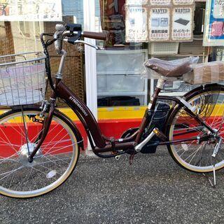 21テクノロジー 24インチ電動アシスト付自転車 折りたた…