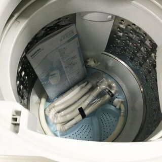 東芝 TOSHIBA 洗濯機 6㎏ AW-6G5 2016年製 パワフル浸透洗浄 ふろ水ポンプ付き - 家電
