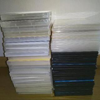 CD・DVDケースたくさん